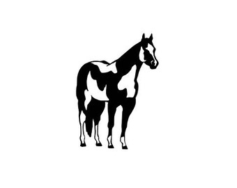 Paint Horse Decal | Horse Decal | Spotted Horse Decal | Equine Decal | Equestrian Decal