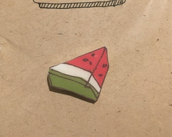 Watermelon Lapel Pin