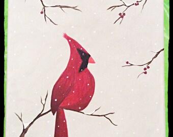 Made-To-Order Winter Cardinal
