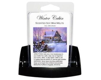 WINTER CABIN // Wax Tarts // Soy Tarts // Candle Tarts // Melting Tarts // Scented Tarts
