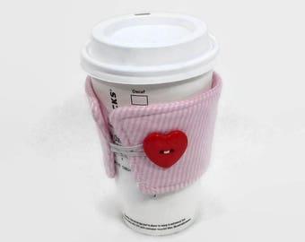 coffee cozy, coffee sleeve, gift for her,  fabric cup sleeve, tea cozy, coffee cozy, coffee sleeve, cup cozy, cup sleeve, mug cozy