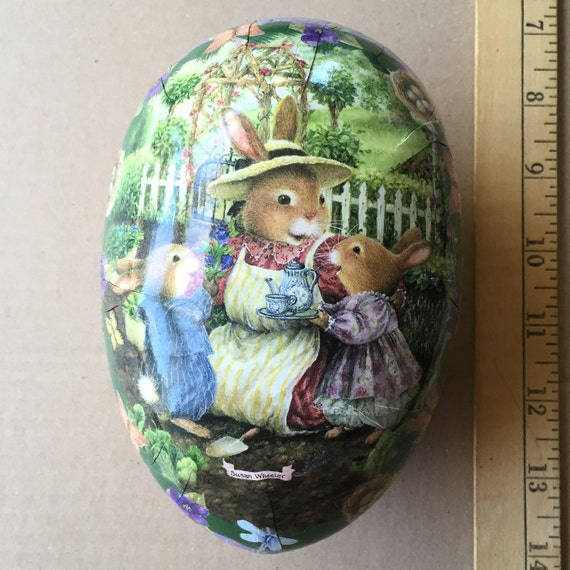 Paper Mache Egg Large Germany