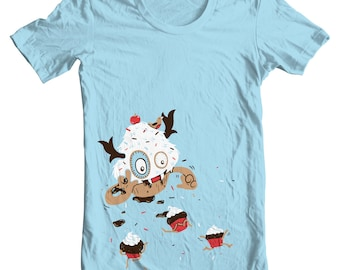 Cupcake Monster T-Shirt - Men's Medium