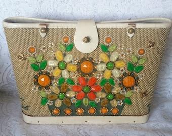 Enid Collins Handbag, Missing one handle