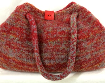 Pattern: Weekend Bag - A Knitting and Felting Pattern
