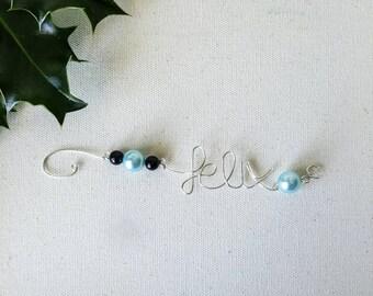 Custom Name Ornament, Custom Ornament, Custom Christmas Ornament, Personalized Name Ornament, Personalized Name Gift, Personalized Gift