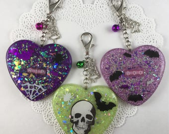 Creepy Cute Halloween Bag Charms