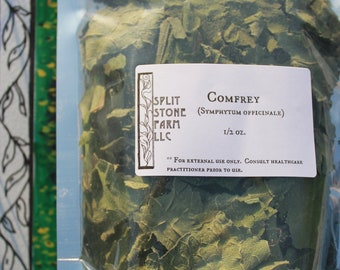 Dried Comfrey Leaves (organic)