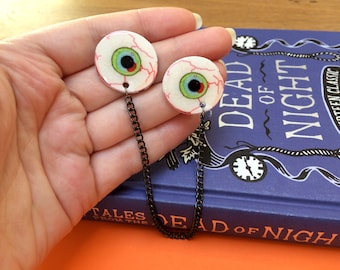Eyeballs - Collar Clips - Halloween