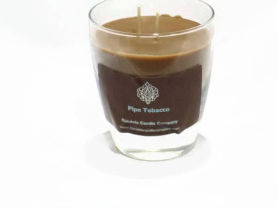 New! Pipe Tobacco Scented Candle in Classic Tumbler