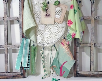inspiration kit No052 - green floral