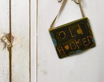 Old Hooker Hooker's Pocket from Notforgotten Farm ~ PAPER pattern