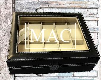 Groomsman Gift/Engraved Watch Box/Display Case/Custom Watch Box/Best Man Gift/Groom Gift