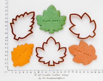 Autumn Leaves Cookie Cutter Set (budget cutters)