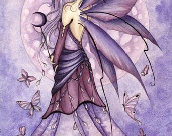 Lavender Moon Poster by Jessica Galbreth 2006
