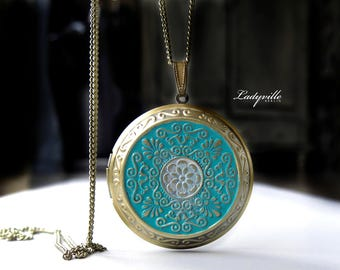 Foto Locket - Locket with Patina