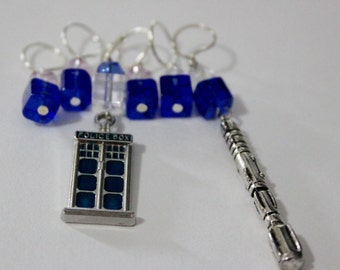 Doctor...Who...Stitch Markers