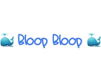 Bloop Bloop Font