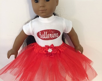 """Ballerina #10 doll clothes for the 18"""" doll like the American girl"""