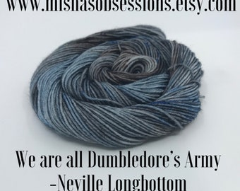 We are all Dumbledore's Army- Niveille Longbottom on Perfect(75/25 Merino/Nylon) 463 yards