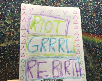 Feminist Riot Grrrl Zine Issue #7