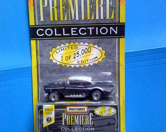 1957 Chevy Matchbox Premiere new on card