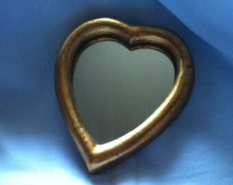 Vintage wooden mirror shape wall mirror Decorative