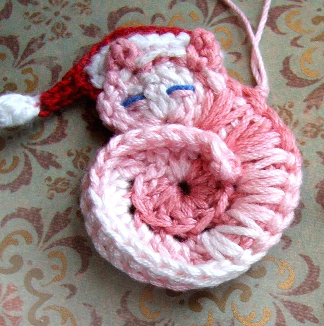 Animal crochet pattern darling kitty crochet pattern for agrandir dt1010fo