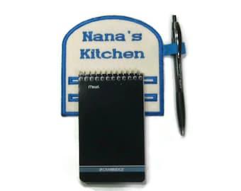 Magnetic notepad holder  Nana's Kitchen
