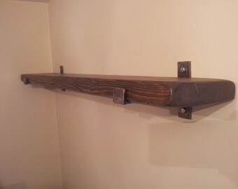"""1 x 8"""" Deep  rustic  shelf.   various sizes available"""