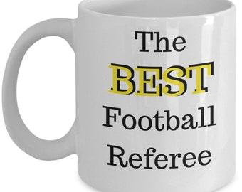 The Best Football Referee Mug