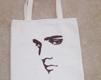 Free personalizing AWESOME  Elvis canvas tote