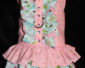 Flowers and Bees Harness Dress