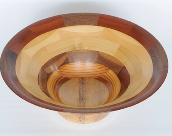 Reclaimed Segmented Bowl