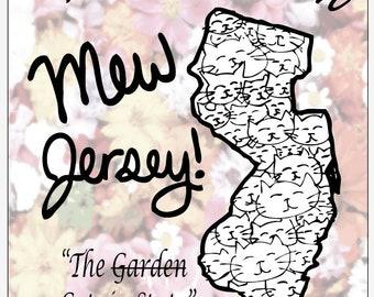 Mew Jersey Postcard - New Jersey Souvenir Postcard