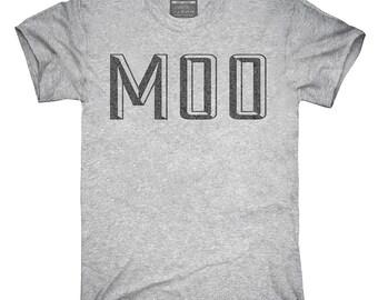 Moo T-Shirt, Hoodie, Tank Top, Gifts