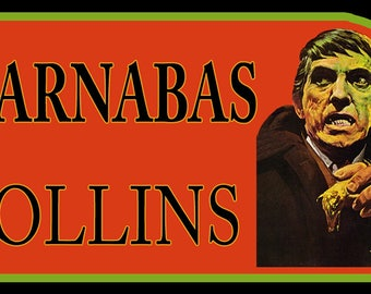 60's TV Classic Dark Shadows Barnabas Collins custom tee Any Size Any Color