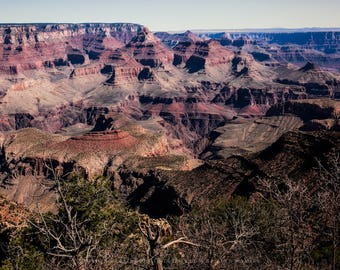 Southwest Photography Picture - Fine Art Print of Grand Canyon in Northern Arizona Western Home Decor National Parks Grand Canyon Artwork