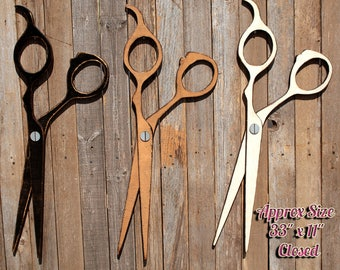 Hair Salon Decor Salon Decor Hairdresser Gift Dog Groomer Gift Gift Groomer Gift For Hairdresser Hair Stylist Gift Scissor Wall Decor