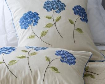 Set of Machine Embroidery Designs Hydrangea (7 in 1)