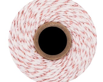 NEW * Rose gold metallic Divine Twine - 10 meters