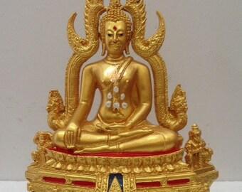Thailand Buudha Old Thai Buddha Metal Southeast Asia collectible Very Rare
