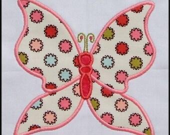 INSTANT DOWNLOAD Butterflies Applique designs SET