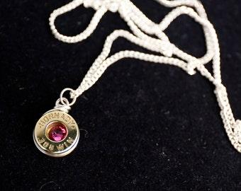 Bullet Jewelry Hornady 308 brass bullet necklace