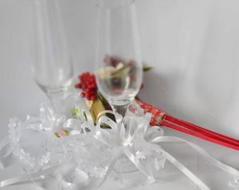wedding glass decoration