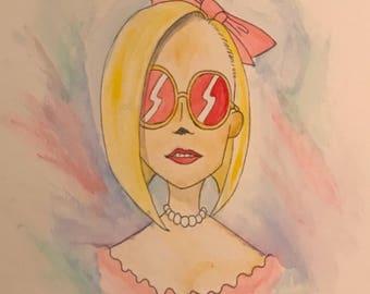 Blonde dreamer