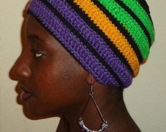 Violetta Spring, Crochet African Headwrap