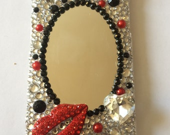 iPhone 6/6s Crystal phone case with mirror