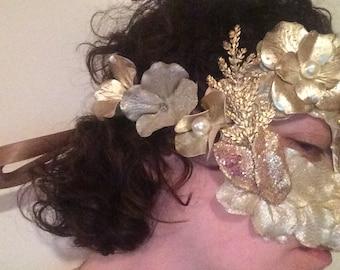 Winter Fairy Mask