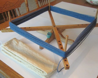 Yarn Swift with COUNTER, Tabletop Amish Style Wooden Yarn Swift, Handmade, Skein Winder, yarn winder,  Compact, Portable, With cloth bag